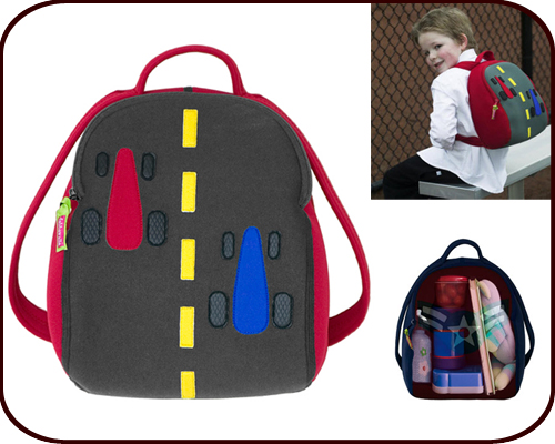 Insulated Race Car Backpack