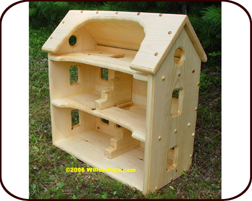 Willow Toys - Emeline's Wooden Dollhouse (2 years+)