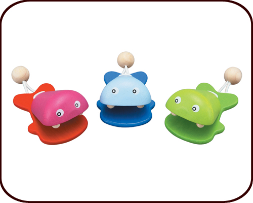 Fish Castanets (12 months+)