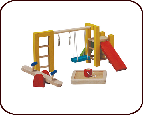 Dollhouse accessories - Playground