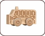 Scoot toy - School Bus (2 years+)
