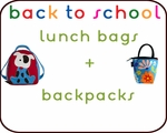 Lunch Bags + Backpacks