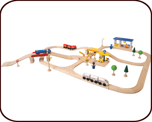 Road & Rail Play Set - City Transportation (3 years+)