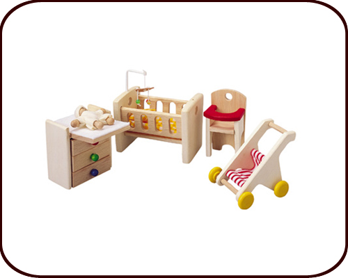 Dollhouse accessories - Nursery