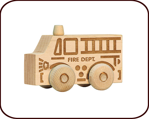 Scoot toy - Fire truck (2 years+)