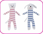 ORGANIC SOFT TOYS & TEETHERS