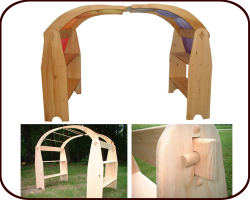 Willow Toys - Wooden Play Stand