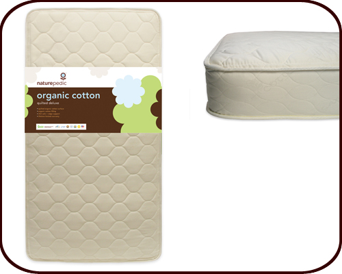 Organic Mattress: The Quilted Organic Cotton Deluxe