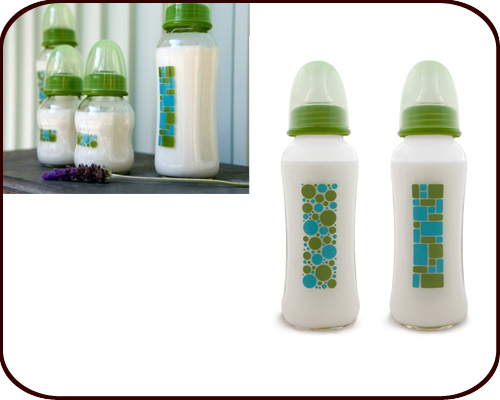 Glass Baby Bottles 8oz (set of 2)