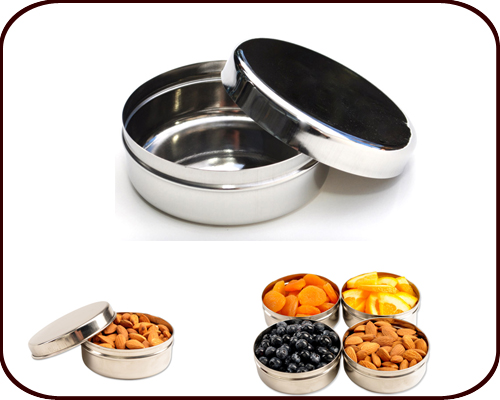 Round Stainless Steel Eco Dipper