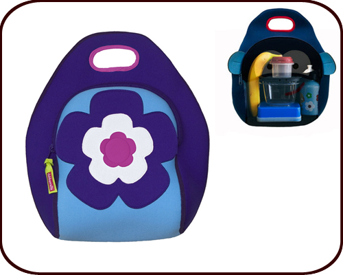 Insulated Flower Lunch Bag
