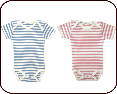 Organic Short-Sleeved Onesie