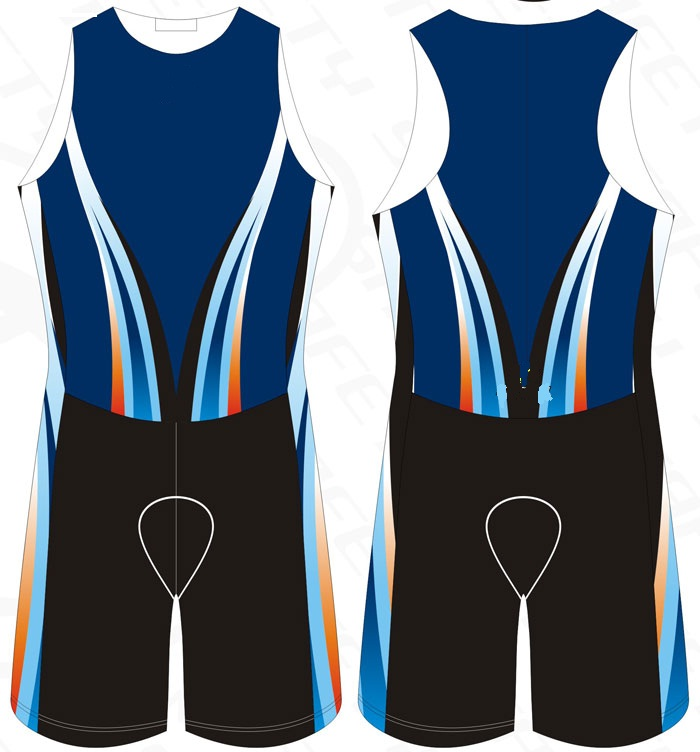 Tri Suit Blue Semi Custom Triathlon, tri chamois, triathlon