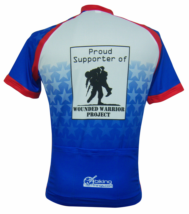 Wounded warrior project Bike jersey cb4af0e81