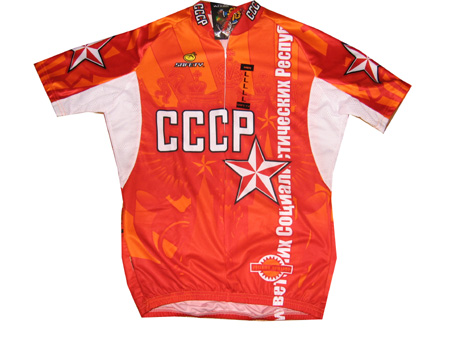 e4cd00768 Russia CCCP Team Jersey, Russia Cycling Jersey, Russia Retro Bike Jersey