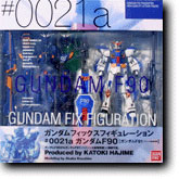 Gundam Fix Figuration 0021a F90 with Conversion F91