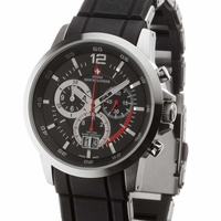 Rugged Mountaineer Chronograph Swiss Watch