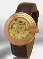 Kings and Queens KQ2650BRRG Gold Mechanical Skeleton Watch