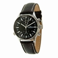 Thunderbirds THU1005-03-E01 Wing Chrono Black Leather Strap Watch
