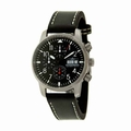 Thunderbirds THU1067-E10S Multi Pro Black Leather Strap Watch