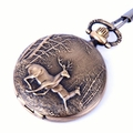 Two-Deer Pocket Watch PW26