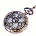 Star-Web Design Pocket Watch PW27