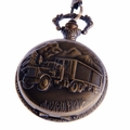 Wheeler-Truck Pocket Watch PW43