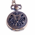 Butterfly-Bow Pendant Pocket Watch PW58