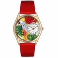 African Grey Parrot Watch Classic Gold Style C 0150002