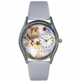 Angel with Harp Watch Classic Silver Style S 0710009