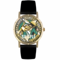 Band Fundraising Print Watch in Gold Classic P 0000010