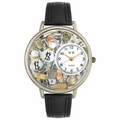 Banker Watch in Gold or Silver Unisex U 0610031