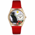 Basking Cat Watch Classic Gold Style C 0120009