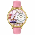 Beautician Female Watch in Gold or Silver Unisex G 0630001