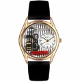 Beautician Male Watch Classic Gold Style C 0630008