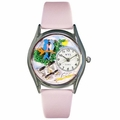 Bird Watching Watch Classic Silver Style S 0150012