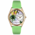 Birthstone Jewelry August Birthstone Watch Classic Gold Style C 0910008