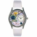 Birthstone Jewelry March Birthstone Watch Classic Silver Style S 0910003