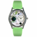 Birthstone Jewelry May Birthstone Watch Classic Silver Style S 0910005