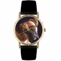 Boxer Print Watch in Gold Classic P 0130014