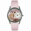 Chocolate Lover Watch Classic Silver Style S 0310005