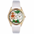 Christmas Gingerbread Watch Classic Gold Style C 1220006