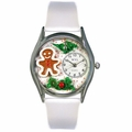 Christmas Gingerbread Watch Classic Silver Style S 1220006