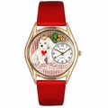 Christmas Puppy Watch Classic Gold Style C 1221010