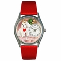 Christmas Puppy Watch Classic Silver Style S 1221010