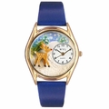 Christmas Reindeer Watch Classic Gold Style C 1220002