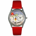 Christmas Snowman Watch Classic Silver Style S 1220004