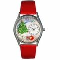 Christmas Tree Watch Classic Silver Style S 1220001