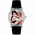 Custom Friends Photo Watch Classic Silver Style R 0000005