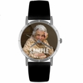 Custom In Memory Photo Watch Classic Silver Style R 0000008